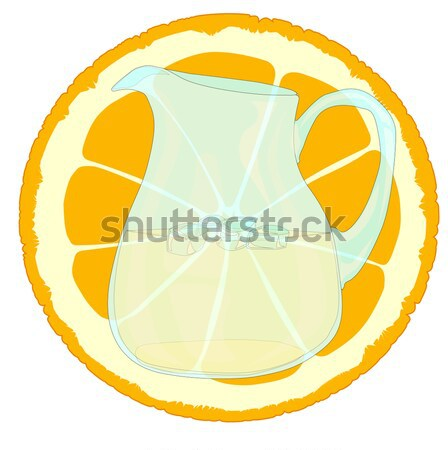 Cool Orangeade Stock photo © Bigalbaloo