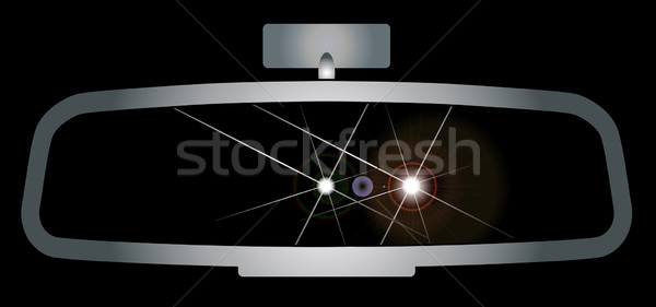 Stock photo: Dazzling Headlights