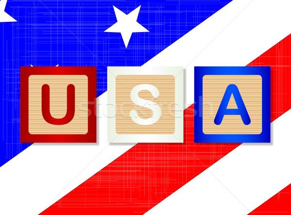 Briefe Usa : Usa · holz briefe sammlung rechtschreibung sternen