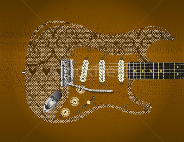 Sexy Music Stock photo © Bigalbaloo