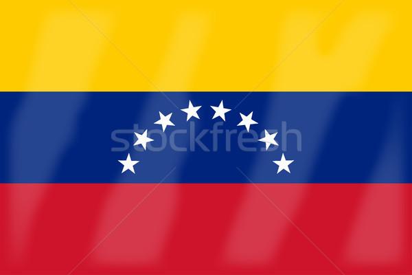 Venezuela zászló arab liga vidék Stock fotó © Bigalbaloo