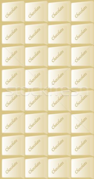 White Chocolate Bar Stock photo © Bigalbaloo