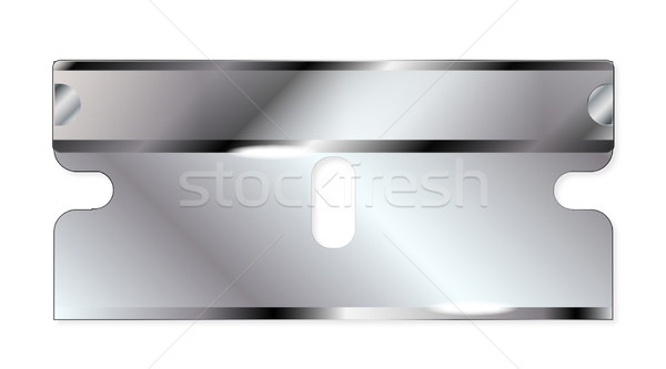 Safety Razor Blade Stock photo © Bigalbaloo