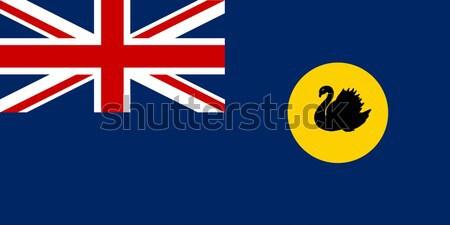 Batı bayrak örnek Stok fotoğraf © Bigalbaloo
