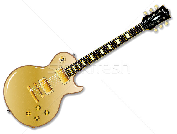 Classic Gold Top Stock photo © Bigalbaloo