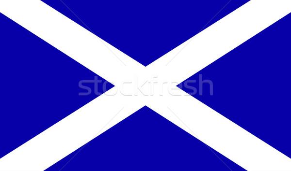 Сток-фото: флаг · официальный · Шотландии · Великобритания · Великобритания · искусства