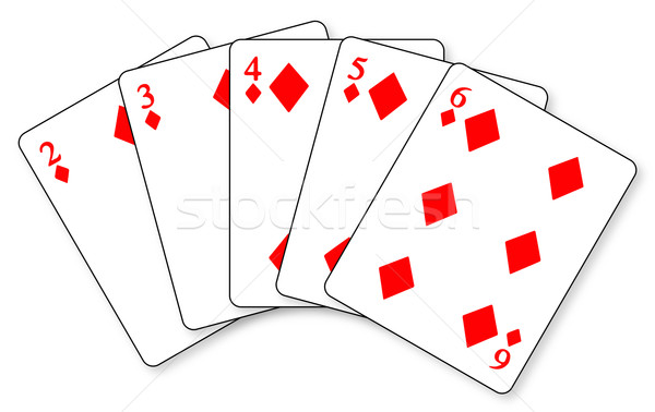 Straight Flush Stock photo © Bigalbaloo
