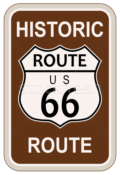 Stock photo: Historic Route 66