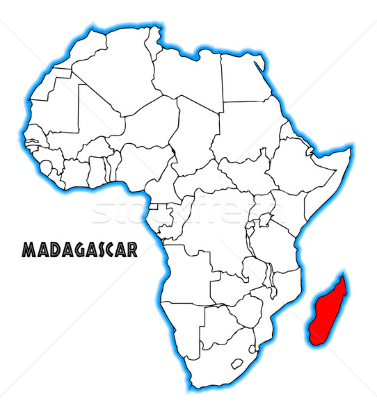 Madagascar Stock photo © Bigalbaloo