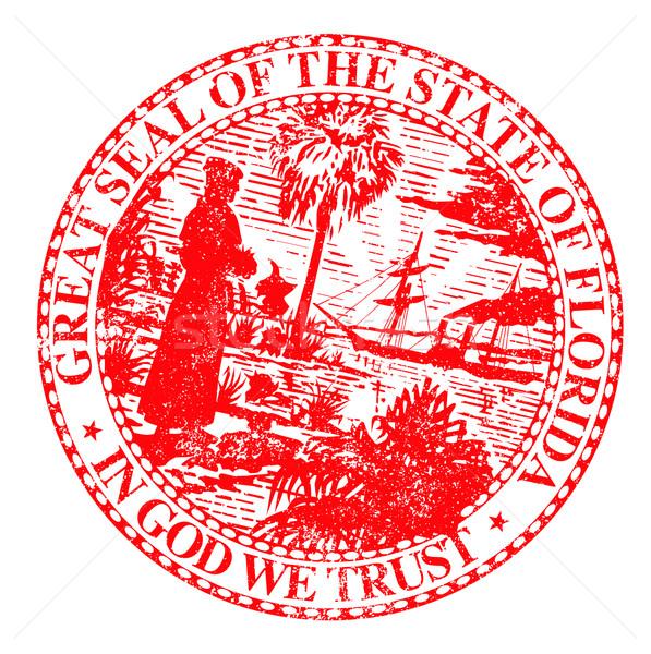 Florids State Seal Stock photo © Bigalbaloo