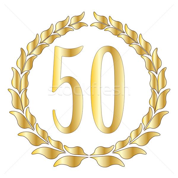 50th Anniversary Stock photo © Bigalbaloo