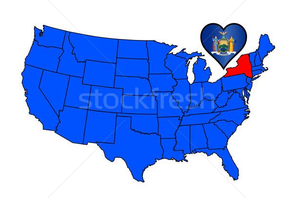 State of New York Stock photo © Bigalbaloo