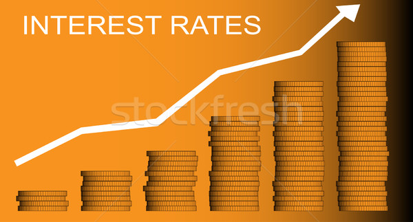 Interest Rates Stock photo © Bigalbaloo