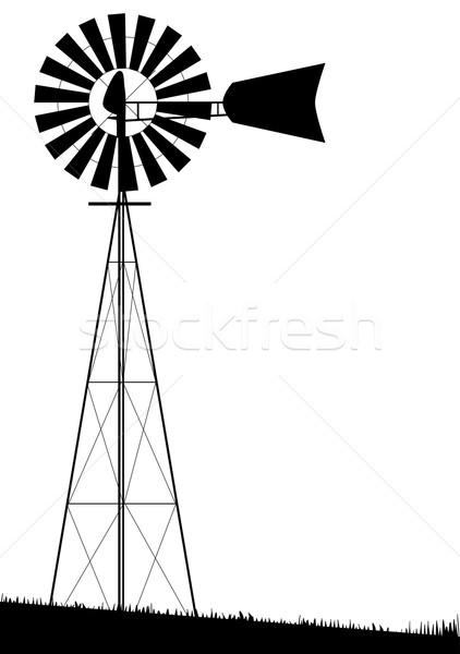 Windmill Stock photo © Bigalbaloo