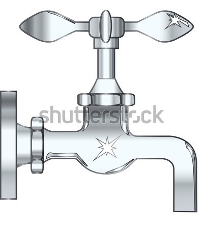 Dripping Faucet Stock photo © Bigalbaloo