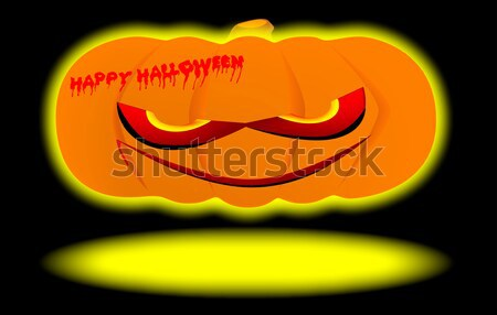 Nasty Pumpkin Stock photo © Bigalbaloo