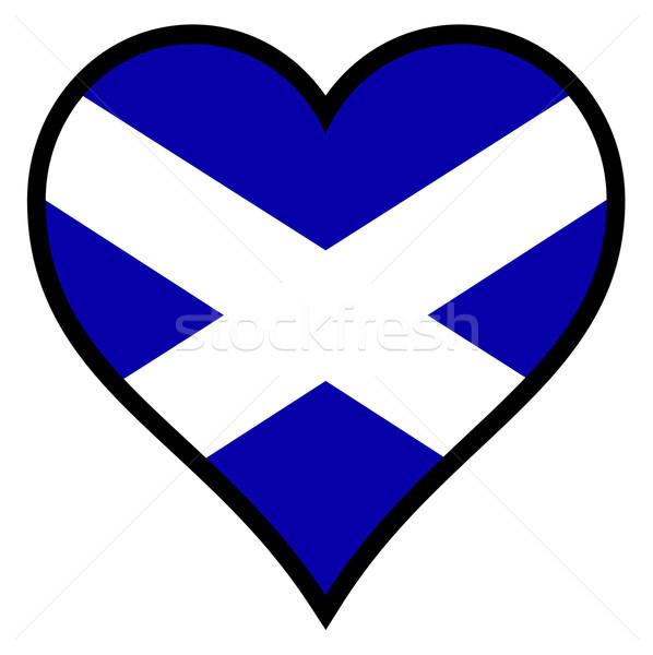 Love Scotland Stock photo © Bigalbaloo