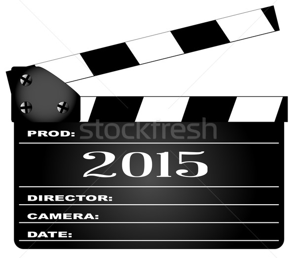 2015 tipico film leggenda isolato bianco Foto d'archivio © Bigalbaloo