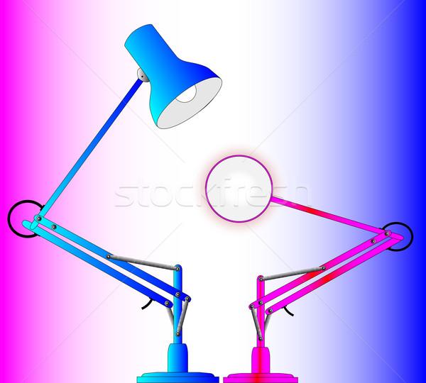 Male and Female Lighting Stock photo © Bigalbaloo