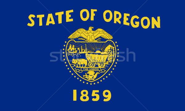Oregon State Flag Stock photo © Bigalbaloo