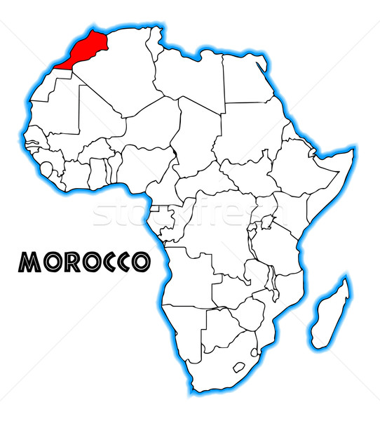 Morocco Stock photo © Bigalbaloo