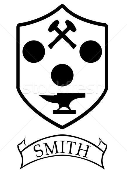 Smiths Coat of Arms Stock photo © Bigalbaloo
