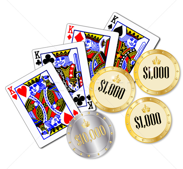 Gambling Stock photo © Bigalbaloo