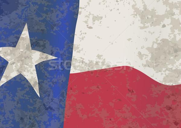 Texas State Flag Stock photo © Bigalbaloo