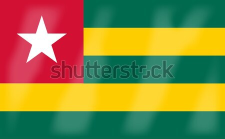 Togo bandiera african paese africa Foto d'archivio © Bigalbaloo