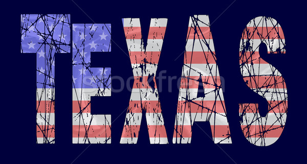 USA Stars and Stripes Flag Stock photo © Bigalbaloo