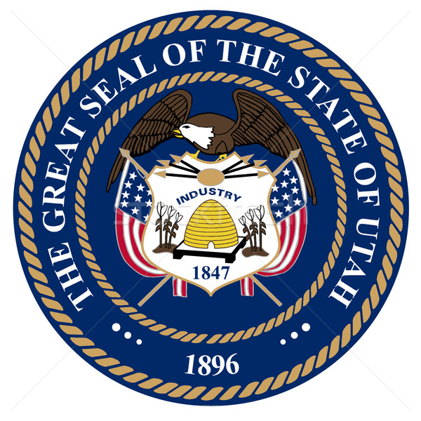 Utah sello americano blanco dibujo Foto stock © Bigalbaloo