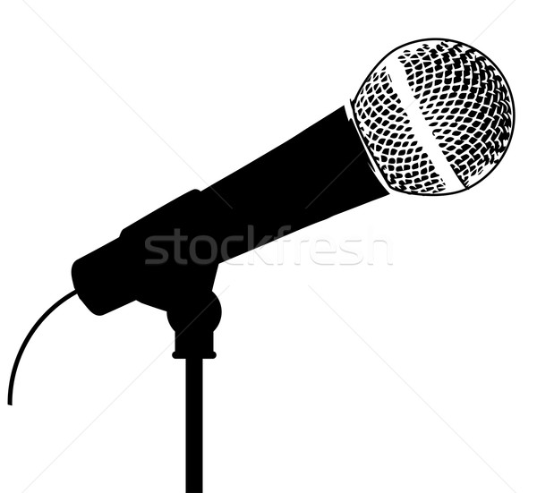 Microphone Stock photo © Bigalbaloo