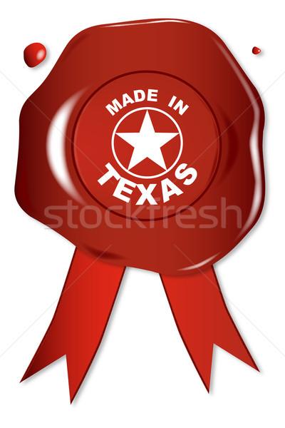 Made In Texas Stock photo © Bigalbaloo