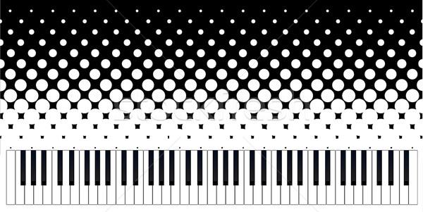 Keyboard Grunge Stock photo © Bigalbaloo