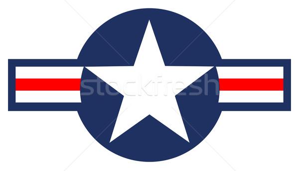 USAF Markings Stock photo © Bigalbaloo