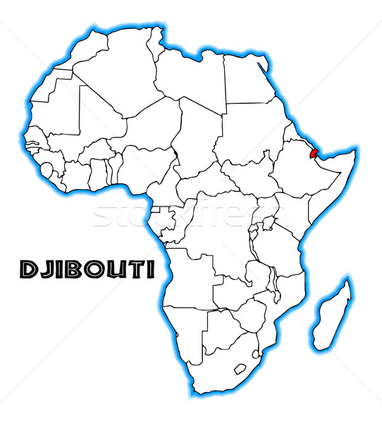 Djibouti Stock photo © Bigalbaloo