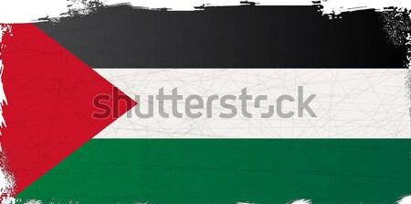 Bayrak Arap lig ülke çizim Stok fotoğraf © Bigalbaloo