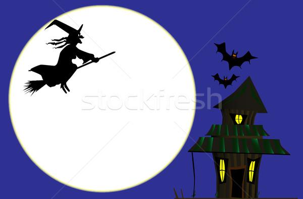 Witches Cottage Stock photo © Bigalbaloo