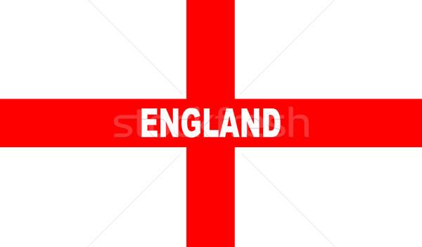 Flag of England Stock photo © Bigalbaloo