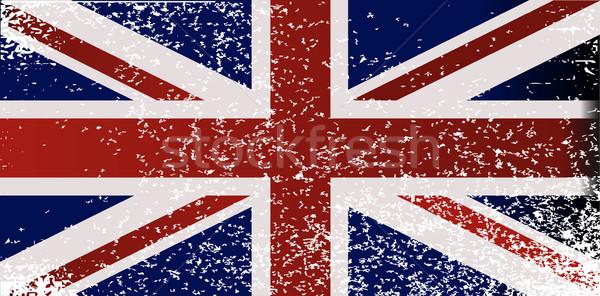 Grunge British Flag Stock photo © Bigalbaloo