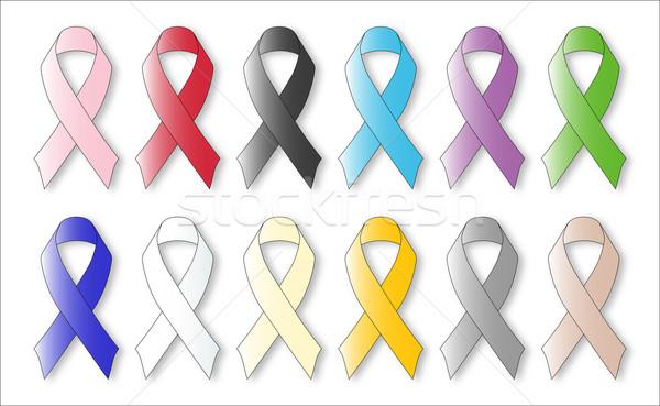 Awareness Ribbons Stock photo © Bigalbaloo