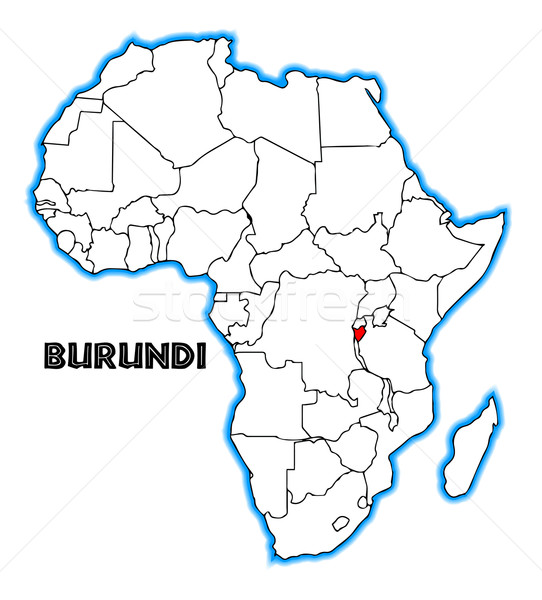 Burundi Stock photo © Bigalbaloo