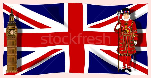 London England. Stock photo © Bigalbaloo