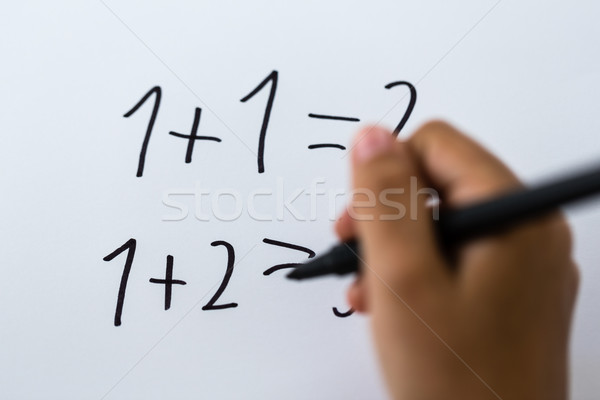 Basic math Stock photo © bigandt