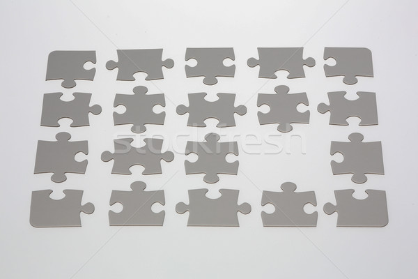Jigsaw Puzzle with Missing Piece Stock photo © bigandt