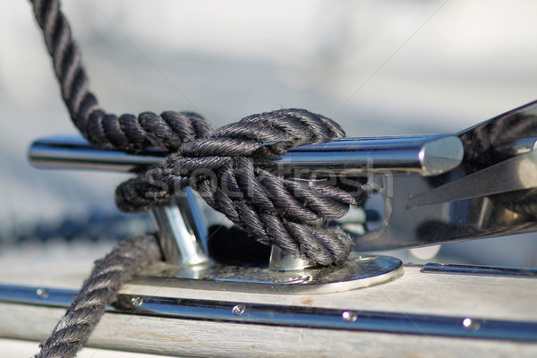 Close-up of mooring knot Stock photo © bigandt