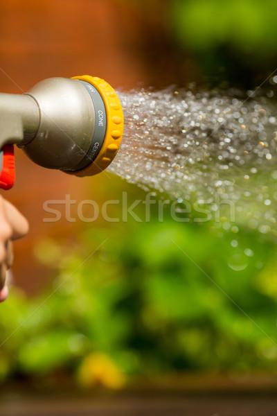 Adjustable water sprayer Stock photo © bigandt