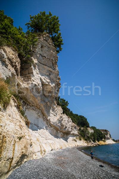 Kredy popularny atrakcją turystyczną słoneczny lata Zdjęcia stock © bigandt