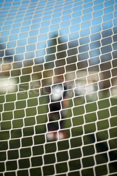 Close-up of goal net Stock photo © bigandt