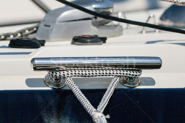 Mooring rope Stock photo © bigandt